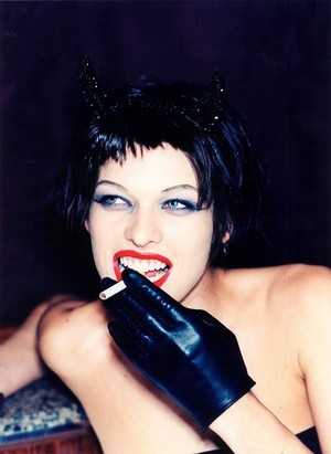 Milla Jovovich - The Face Photoshoot - 1997