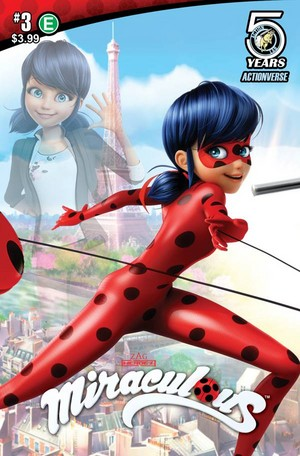 Miraculous Ladybug Comic Book Covers