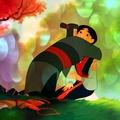 Mulan and Her Father - mulan photo
