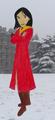 Mulan in Gryffindor - disney-princess photo