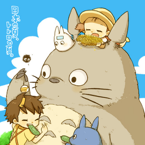 Studio Ghibli images My Neighbor Totoro wallpaper and background