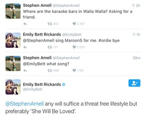New Stephen and Emily tweets