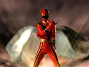 Nick Morphed As The Red Mystic Ranger
