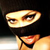 Nicole Scherzinger foto with a ski mask and a balaclava entitled Nicole icona