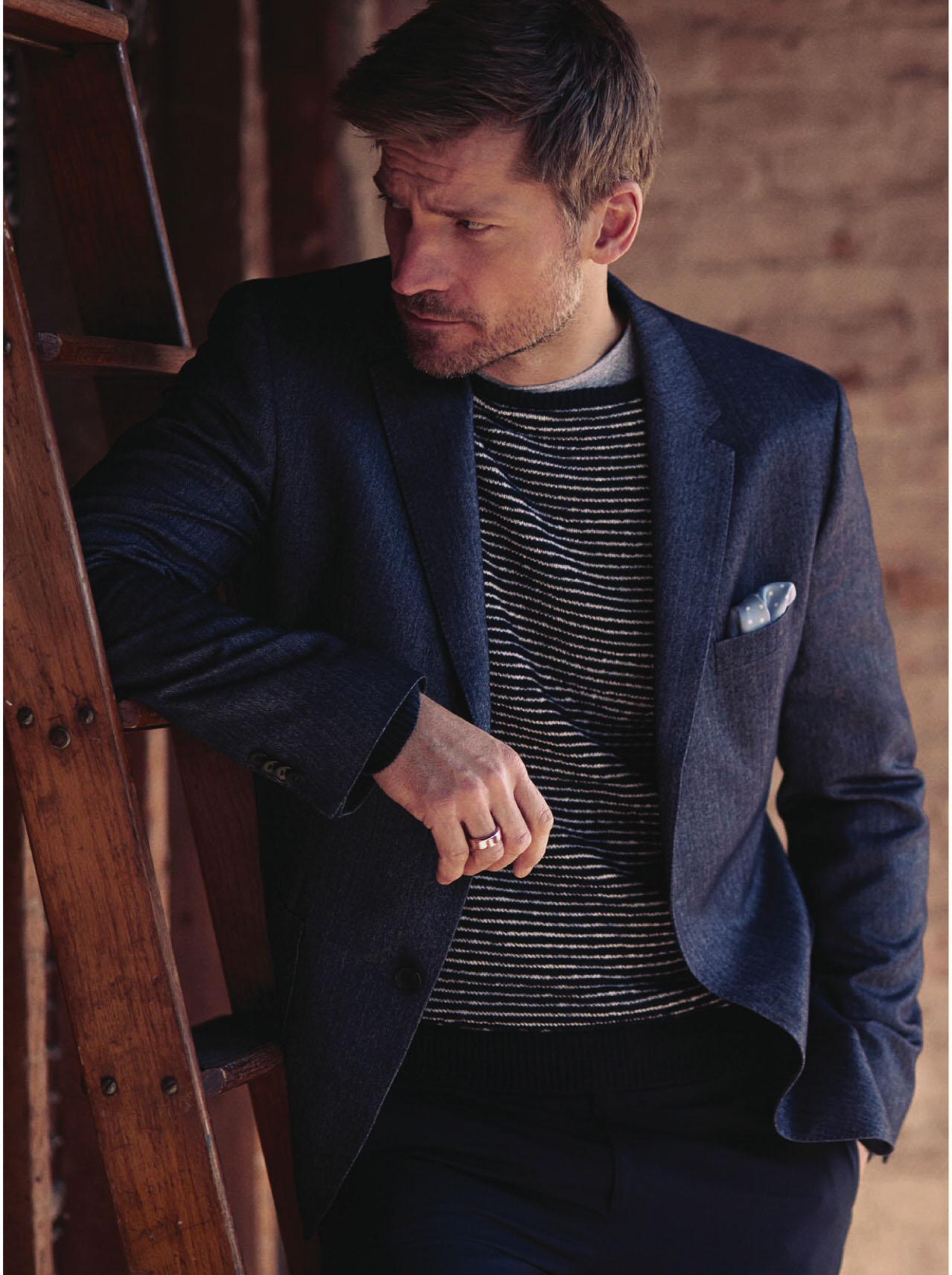 Nikolaj Coster-Waldau - Esquire UK Photoshoot - 2014 ...