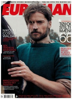 Nikolaj Coster-Waldau - Euroman Cover - 2011