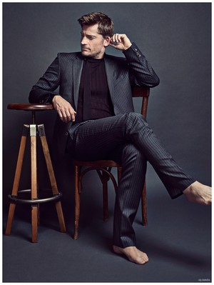 Nikolaj Coster-Waldau - GQ Espana Photoshoot - 2015