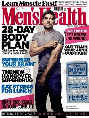 Nikolaj Coster-Waldau - Men's Health UK Cover - 2015