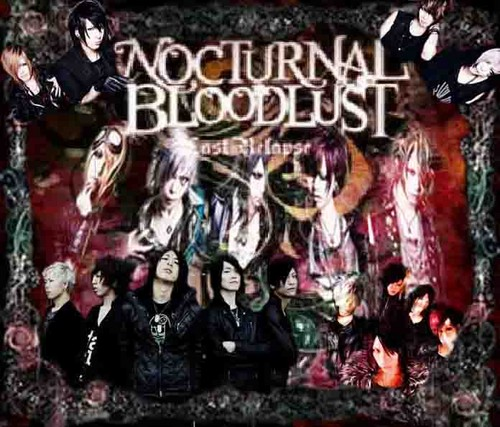 Nocturnal Bloodlust wallpaper containing animê entitled Nocturnal Bloodlust Poster