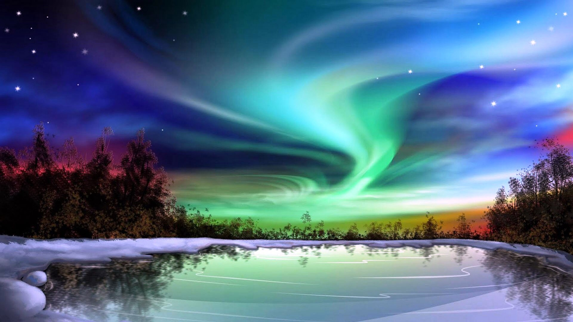 aurora borealis images northern lights hd wallpaper and background