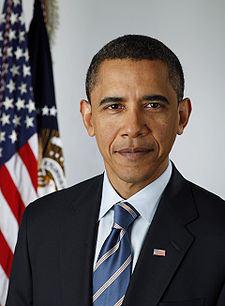 The Presidents of The United States Обои containing a business suit and a suit titled Obama