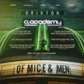 "Of Mice &  Men ""Live in Brixton Academy"" DVD Live Album Cover - of-mice-and-men-band photo"