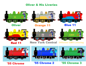 Oliver And His Liveries