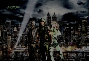 Oliver, Diggle and Felicity