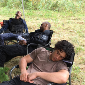 On the Set of The 100