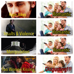 OuaT viewer's hypocrisy