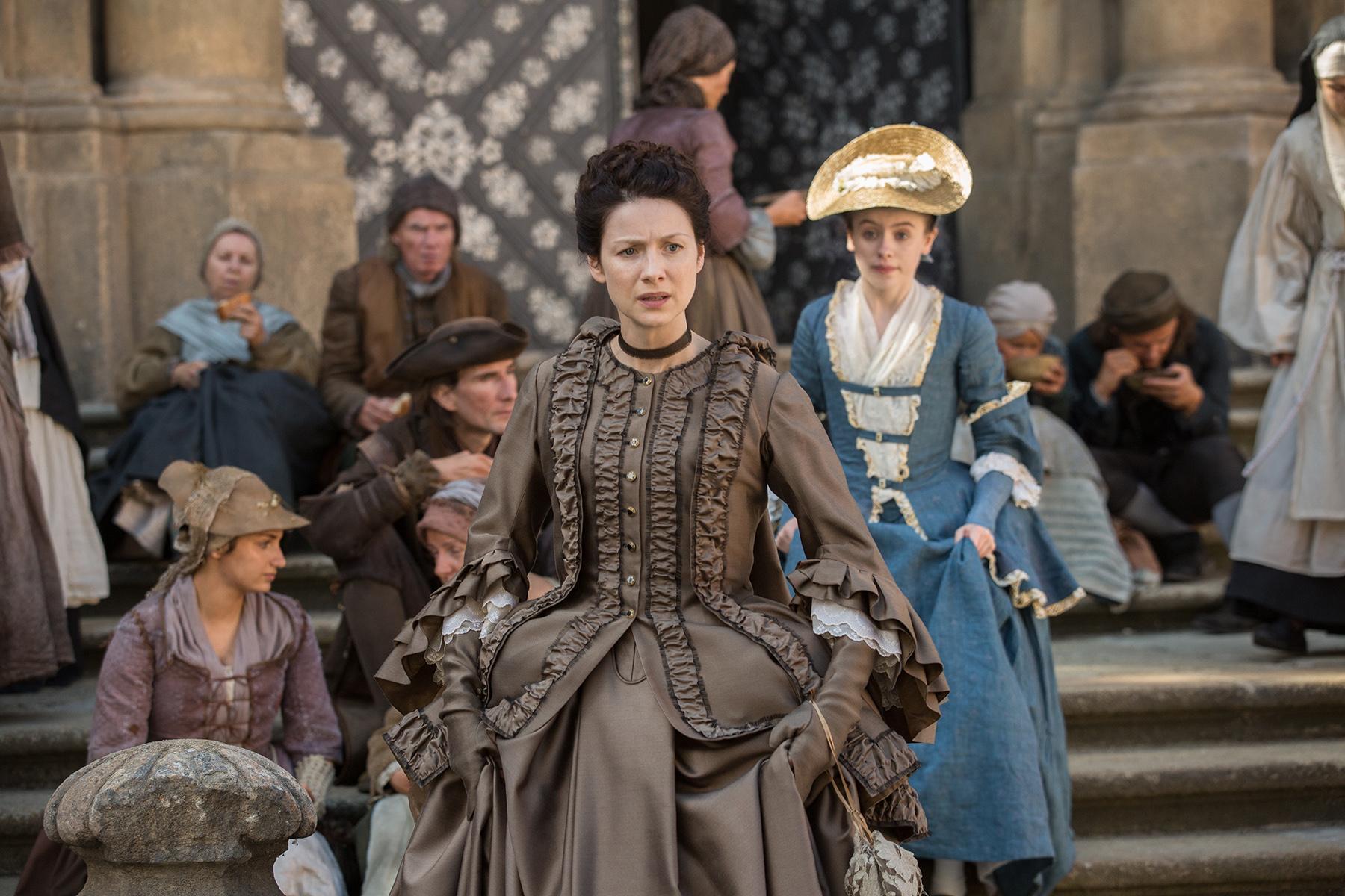 Outlander La Dame Blanche 2x04 Promotional Picture Outlander 2014 Tv Series Photo