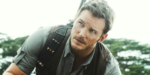 Jurassic World kertas dinding entitled Owen Grady