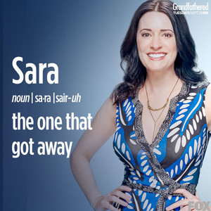 Paget Brewster as Sara on Grandfathered