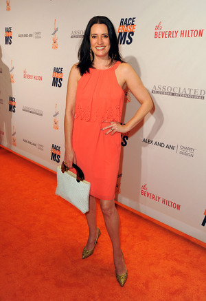 Paget Brewster at the 23rd Annual Race To Erase MS Gala at The Beverly Hilton Hotel on April 15