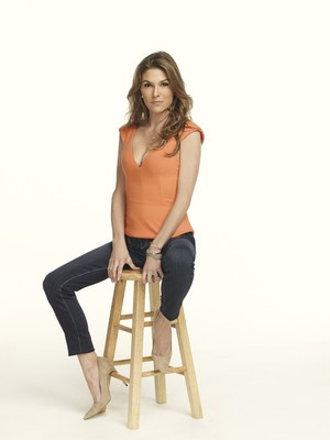 Paige Turco in The 100 Season 1 Photoshoot