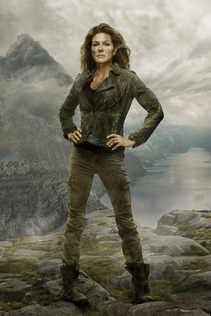 Paige Turco in The 100 Season 2 Photoshoot