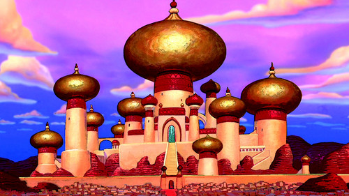 Aladdin wallpaper titled Palace Wallpaper