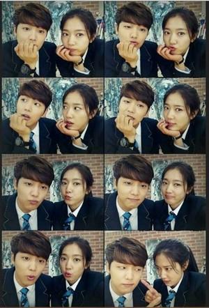 Park Shin Hye and Kand Min Hyuk