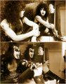 Paul and Gene ~Detroit, Michigan…January 25,1976 (Airport Hilton Hotel) - kiss photo