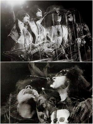 Paul and Gene ~Passiac, New Jersey…April 27, 1974