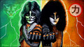 Peter and Eric - eric-carr wallpaper