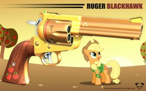 pony With Gun