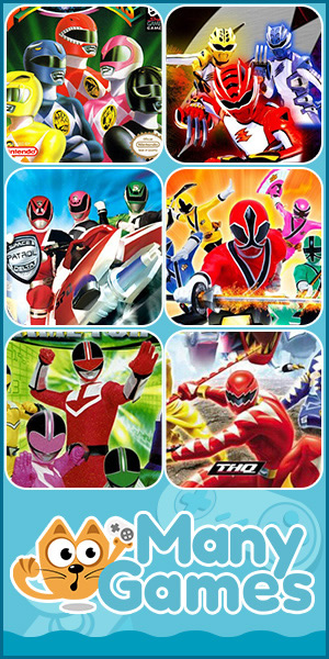 Power Rangers Many Games