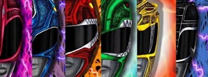 Power rangers couleurs