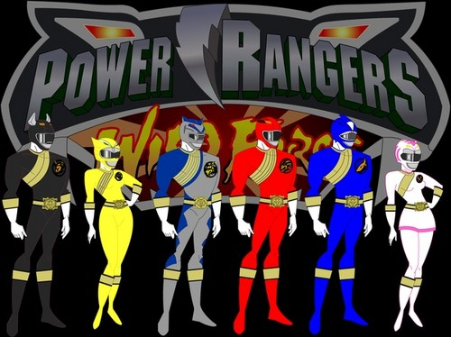 The Power Rangers Wallpaper Possibly Containing A Sign Entitled Wild Force