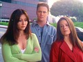 Prue  Piper  and Leo - charmed photo