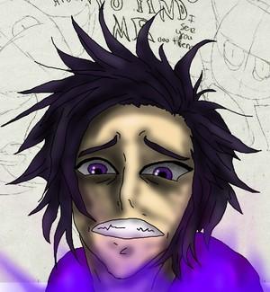 Purple Guy Watching Screen