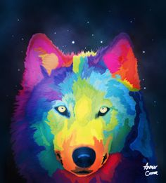 regenboog wolf 2