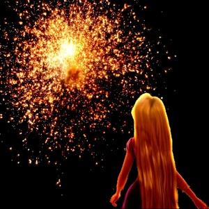 Rapunzel Firework icona