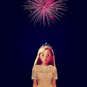 Rapunzel New Dress