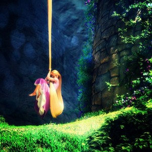 Rapunzel Out of Tower
