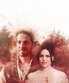 Regina and Robin - once-upon-a-time fan art