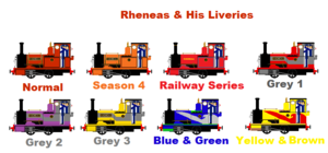 Rheneas And His Liveries