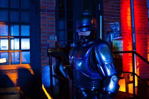 Robocop wallpaper with a breastplate, an armor plate, and a fauld titled Robocop Fan Film