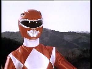 Rocky Morphed As The MM Red Ranger