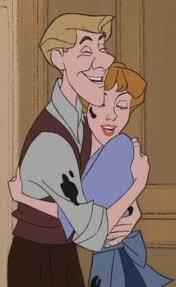 Roger and Anita 101 Dalmations Animated