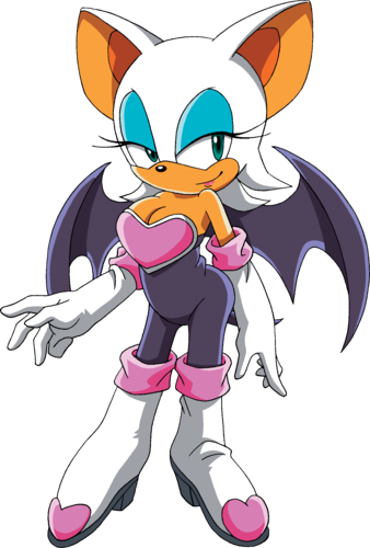 rouge the cool bat kertas dinding containing Anime titled Rouge Is Back