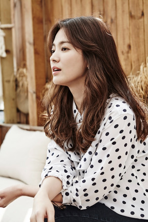 SONG HYE KYO'S POST-DOTS PRESS MEET