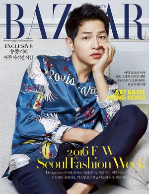 SONG JOONG KI FOR HARPER'S BAZAAR KOREA MAY 2016 ISSUE