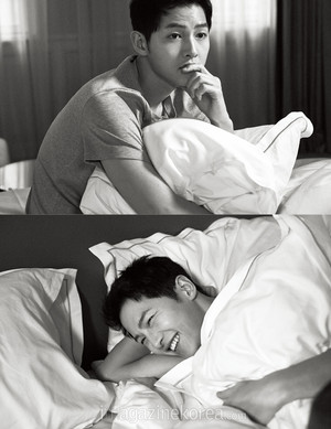 SONG JOONG KI FOR HARPER'S BAZAAR KOREA